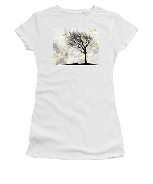 Blowing It The Wind Women's T-Shirt