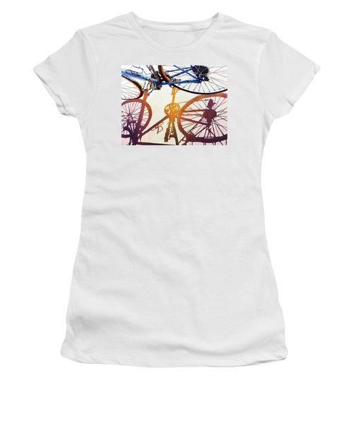 Blue Bike Women's T-Shirt