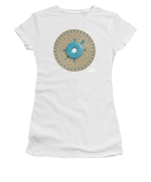 Blue Howlite Women's T-Shirt