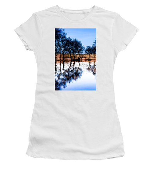 Blue Mirror Women's T-Shirt