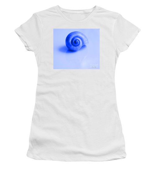 Blue Shell Women's T-Shirt (Athletic Fit)