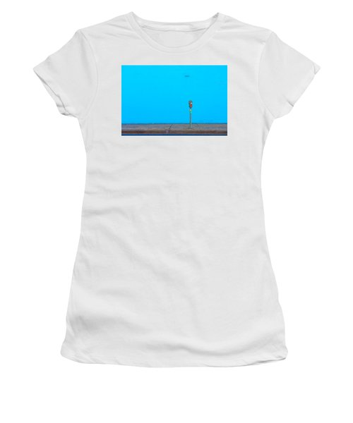 Blue Wall Parking Women's T-Shirt