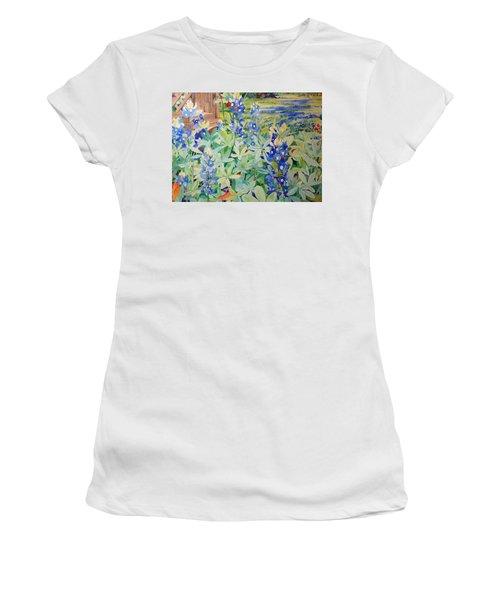 Bluebonnet Beauties Women's T-Shirt (Athletic Fit)