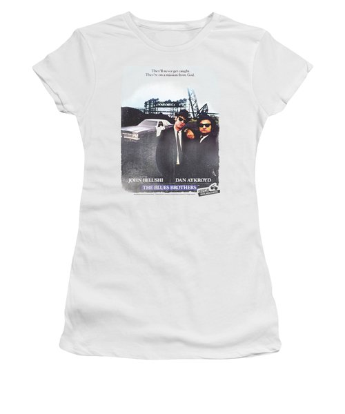 Blues Brothers - Distressed Poster Women's T-Shirt