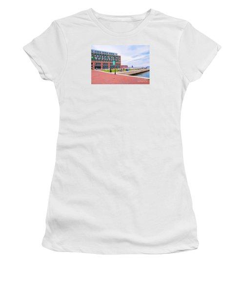 Bond Street Landing Baltimore Maryland Women's T-Shirt (Junior Cut) by Vizual Studio