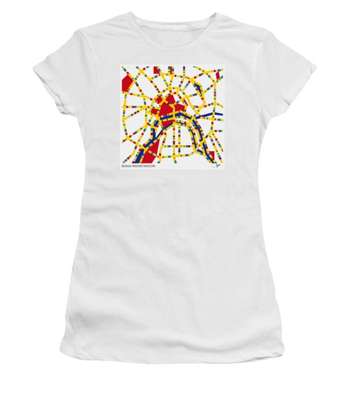 Boogie Woogie Moscow Women's T-Shirt (Athletic Fit)
