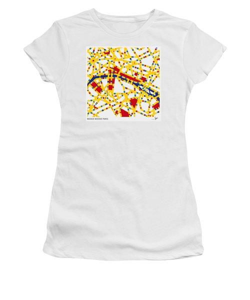 Boogie Woogie Paris Women's T-Shirt (Athletic Fit)