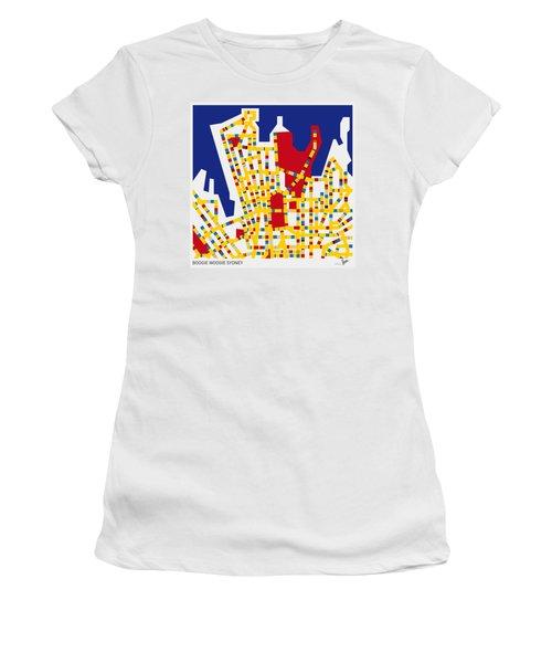 Boogie Woogie Sydney Women's T-Shirt (Athletic Fit)