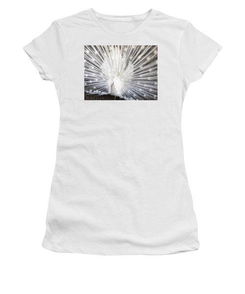 Women's T-Shirt (Junior Cut) featuring the photograph Booya by Tammy Espino