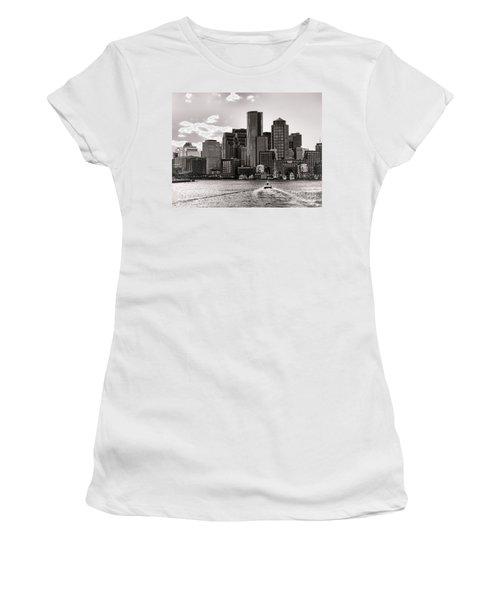 Boston Women's T-Shirt (Athletic Fit)