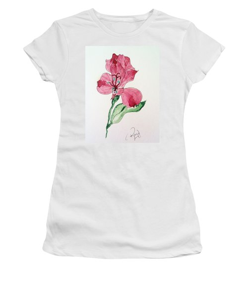 Botanical Work Women's T-Shirt (Athletic Fit)