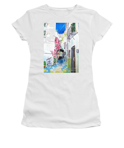 Bougainvillea Path  Women's T-Shirt