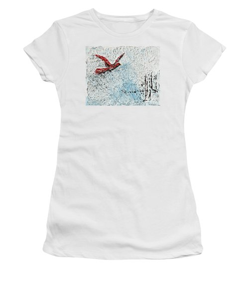 Bound To Fly Women's T-Shirt (Athletic Fit)