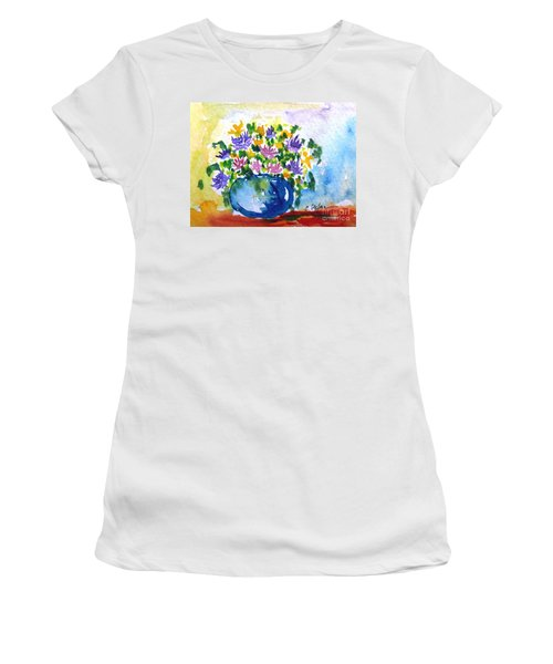 Bouquet Of Flowers In A Vase Women's T-Shirt