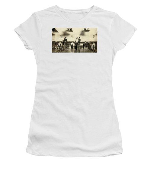 Bowling Pinsetter Boys 1909 Women's T-Shirt