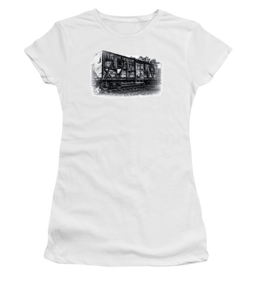 Box Car In High Key Hdr Women's T-Shirt (Junior Cut)