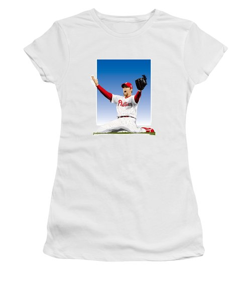 Brad Lidge Champion Women's T-Shirt (Athletic Fit)