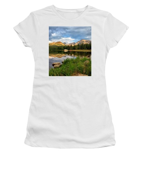 Brainard Lake Reflections Women's T-Shirt (Athletic Fit)