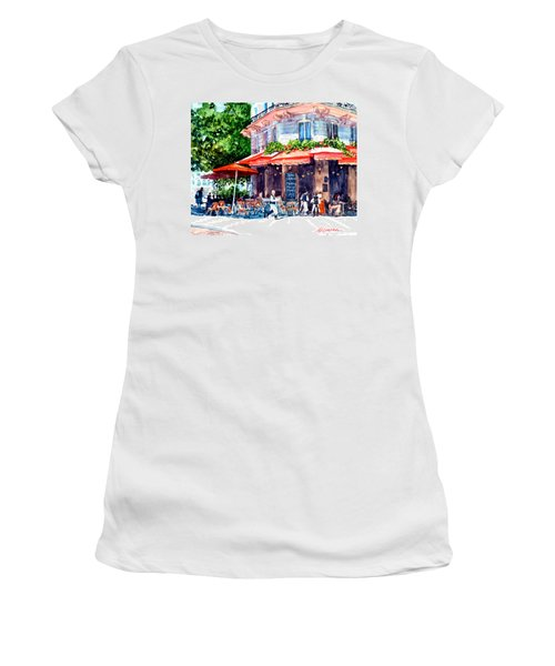 Brasserie Isle St. Louis Women's T-Shirt (Athletic Fit)