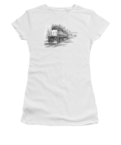 Brecksville Station - Cuyahoga Valley National Park Women's T-Shirt (Junior Cut) by Kelli Swan