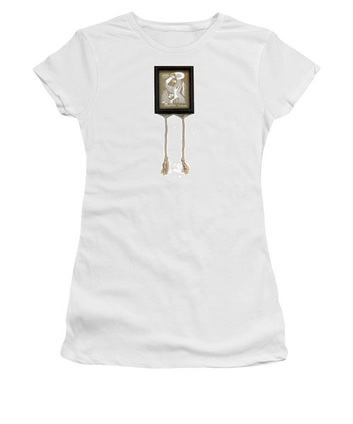 Women's T-Shirt (Junior Cut) featuring the painting Breeze by Fei A