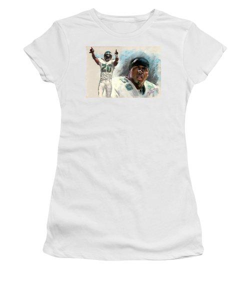 Brian Dawkins Women's T-Shirt (Athletic Fit)