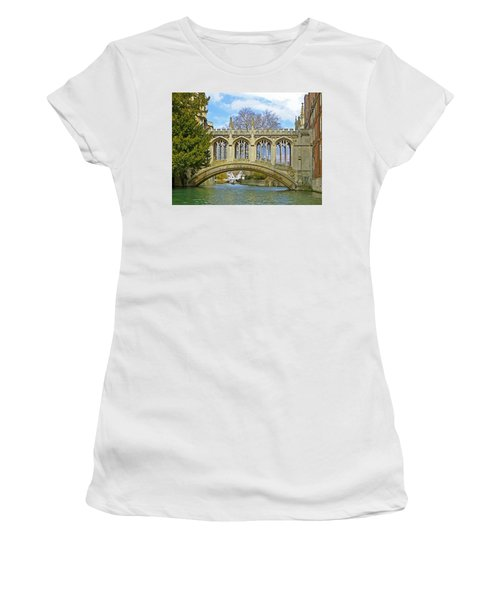 Bridge Of Sighs Cambridge Women's T-Shirt