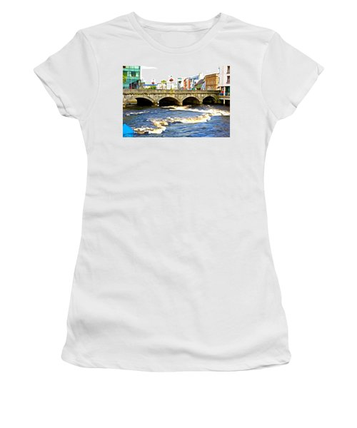 Bridge On The Garavogue Women's T-Shirt
