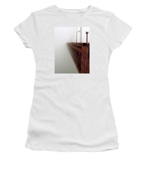 Bridge To Obscurity Women's T-Shirt (Junior Cut) by Bill Gallagher