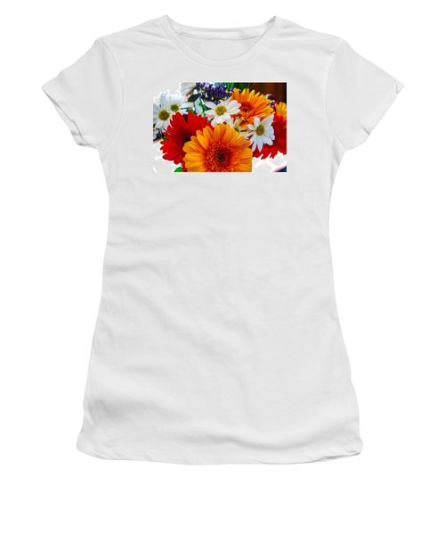 Women's T-Shirt (Junior Cut) featuring the photograph Bright by Angela J Wright