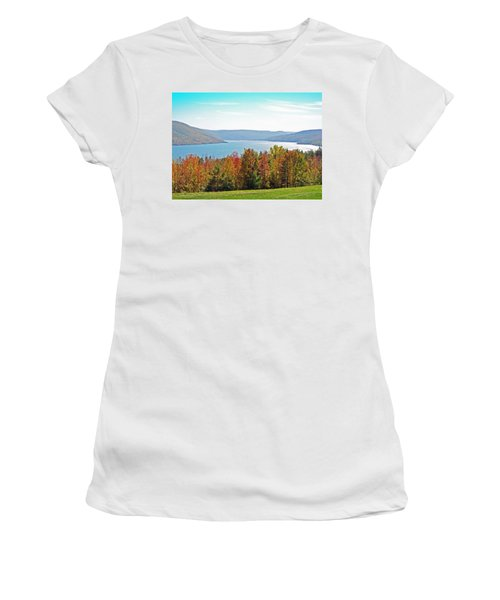 Bristol Harbour View Women's T-Shirt (Athletic Fit)