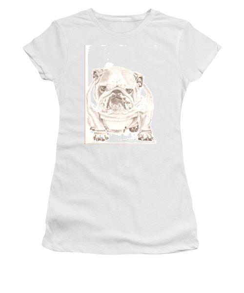 British Bulldog Winnie Women's T-Shirt (Athletic Fit)