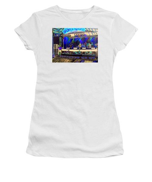 Broadband At The Broken Spoke Saloon Women's T-Shirt (Athletic Fit)