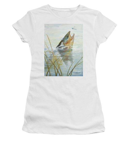 Brown Takes Damsel  Women's T-Shirt