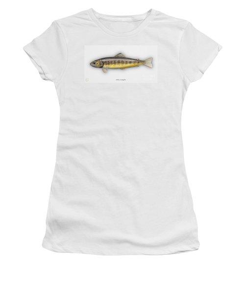Brown Trout - Salmo Trutta Morpha Fario - Salmo Trutta Fario - Game Fish - Flyfishing Women's T-Shirt