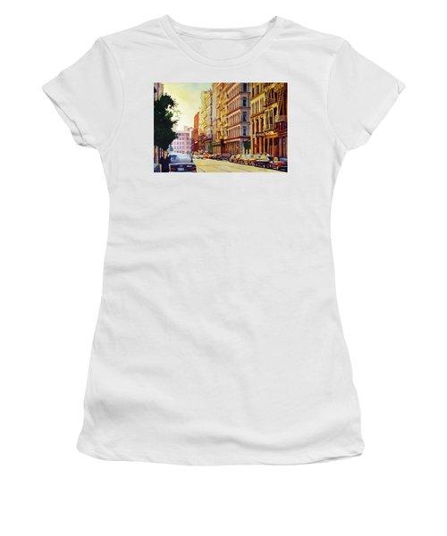 Brownstone Sunset Women's T-Shirt