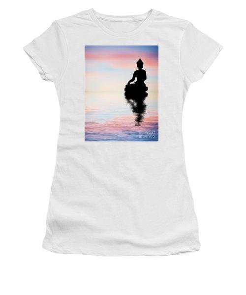 Buddha Reflection Women's T-Shirt