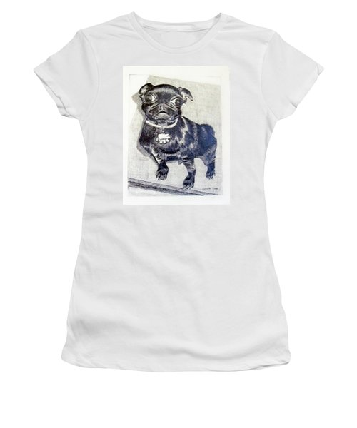 Buddy Women's T-Shirt (Junior Cut) by Jamie Frier
