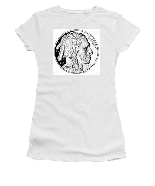 Buffalo Nickel Women's T-Shirt