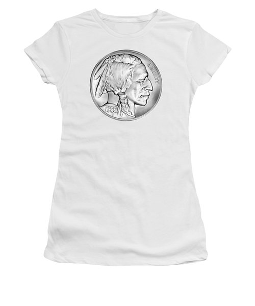 Buffalo Nickel Women's T-Shirt (Athletic Fit)