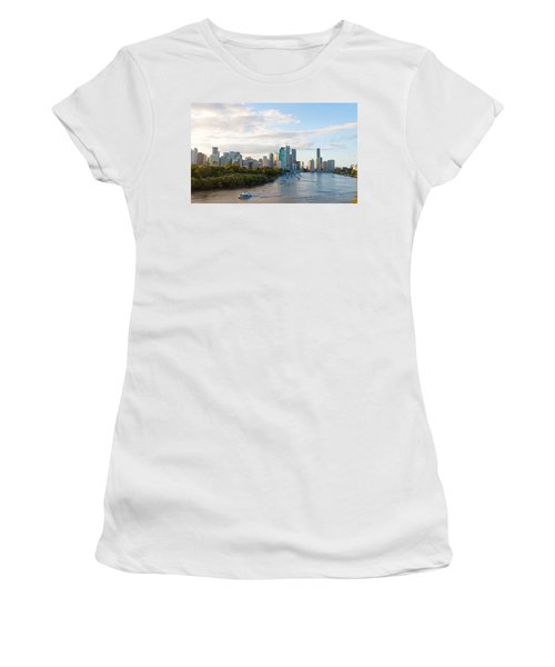 Buildings At The Waterfront, Brisbane Women's T-Shirt (Athletic Fit)