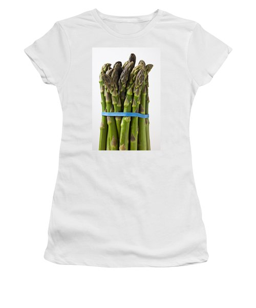 Bunch Of Asparagus  Women's T-Shirt (Athletic Fit)