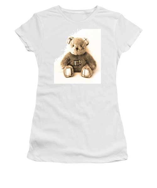 Burberry Bear Women's T-Shirt (Athletic Fit)