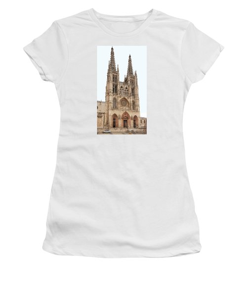 Burgos Cathedral Spain Women's T-Shirt (Athletic Fit)