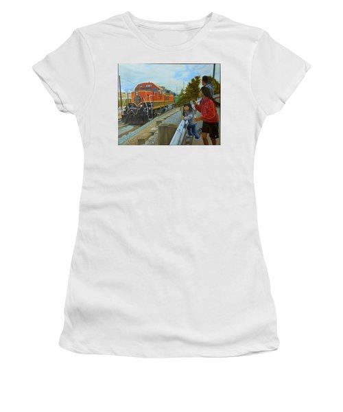 Burlington Northern Santa Fe Women's T-Shirt