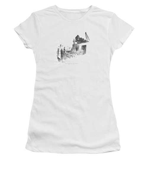 But You Can't Put That Thing Up There! Women's T-Shirt