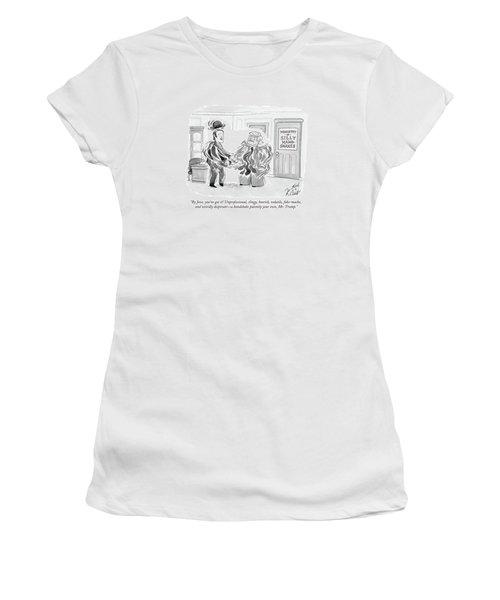 By Jove, You've Got It! Unprofessional, Clingy Women's T-Shirt (Athletic Fit)