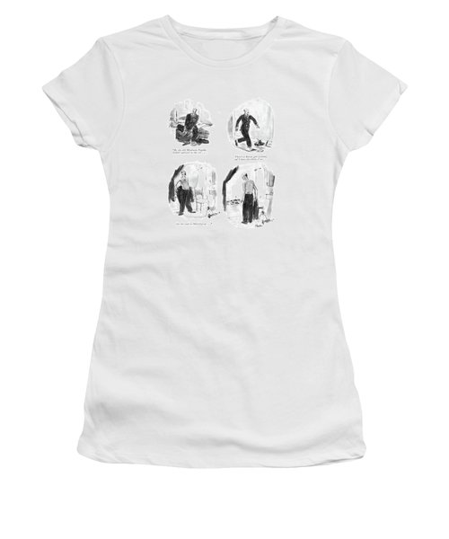 By The Old Moulmein Pagoda Women's T-Shirt