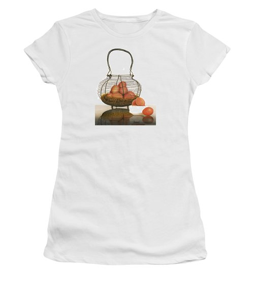 Cackleberries Women's T-Shirt (Junior Cut) by Ferrel Cordle