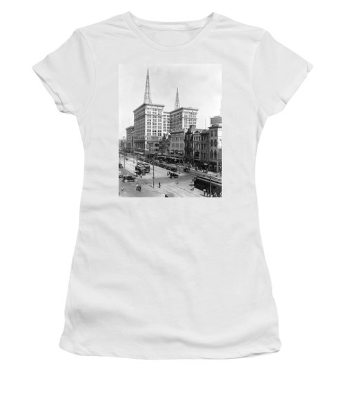 Canal Street In New Orleans Women's T-Shirt